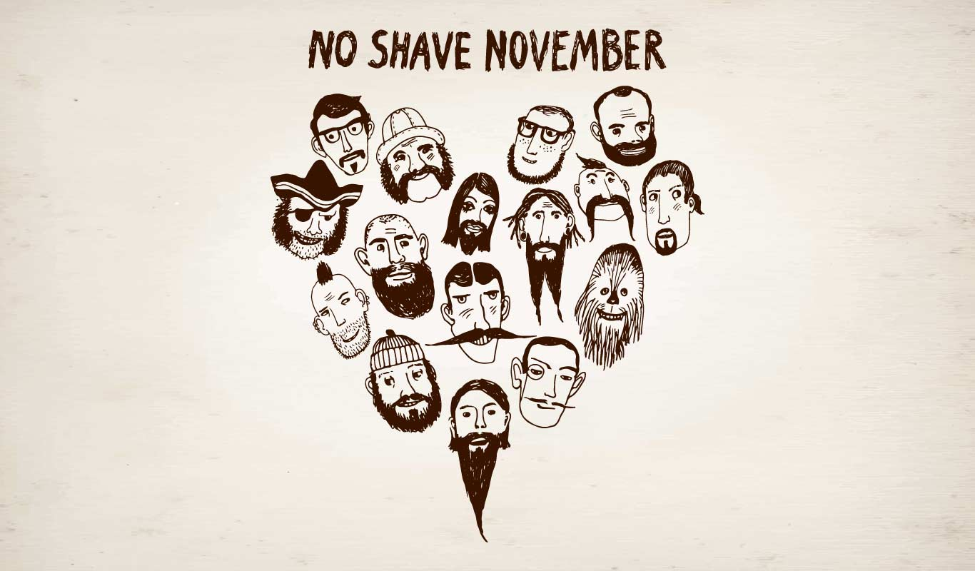 This Movember, skip the razor but not the grooming