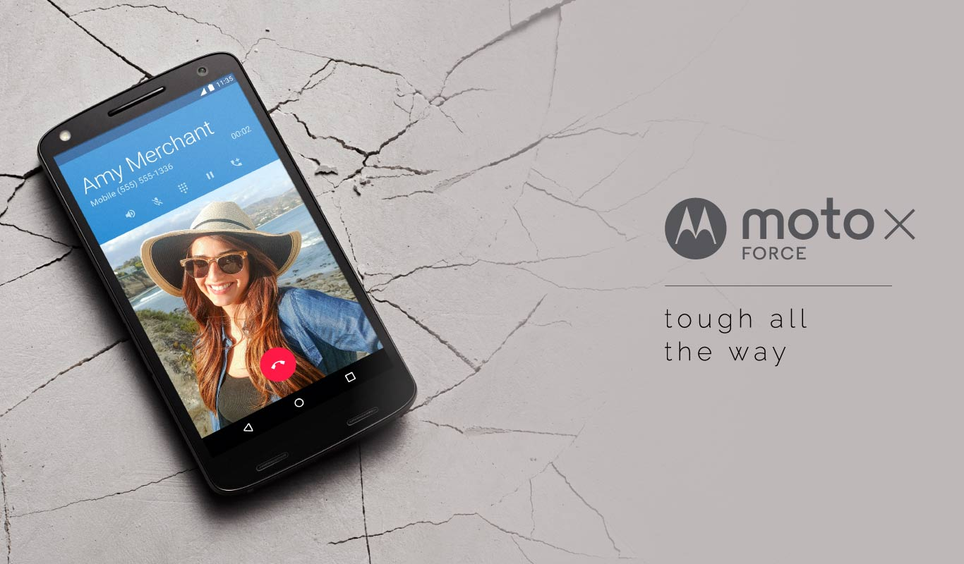 The Moto X Force - get it on Flipkart